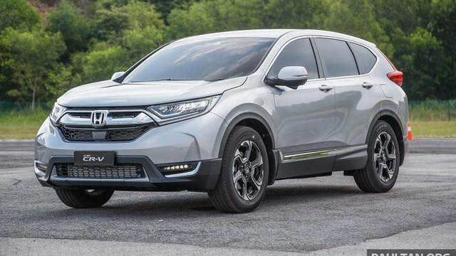 Rò rỉ xe mới sắp ra mắt thay cho Honda CR-V bản 7 chỗ tại Triển lãm Ô tô Việt Nam 2017 - Ảnh 1.