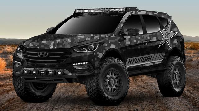 Làm quen với Hyundai Santa Fe phiên bản thách thức mọi địa hình
