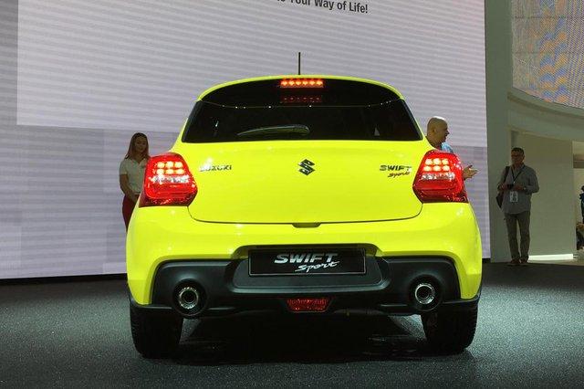 Suzuki Swift Sport 2018 nặng chưa đến 1 tấn chính thức trình làng - Ảnh 3.