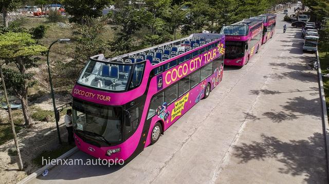 Khám phá và trải nghiệm xe buýt 2 tầng mới được bàn giao tại Đà Nẵng