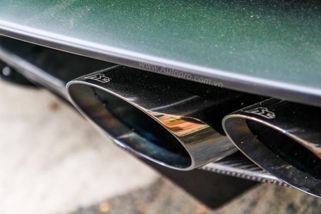 Lamborghini Huracan xanh cốm của đại gia kín tiếng quận 2 tiếp tục được độ khủng - Ảnh 7.