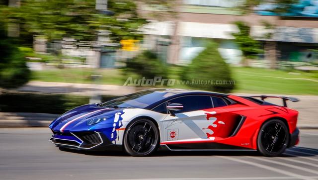 Cận cảnh bộ áo mới trên Lamborghini Aventador SV 32 tỷ Đồng của Minh Nhựa - Ảnh 12.