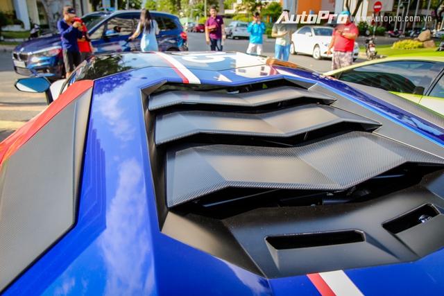Cận cảnh bộ áo mới trên Lamborghini Aventador SV 32 tỷ Đồng của Minh Nhựa - Ảnh 15.