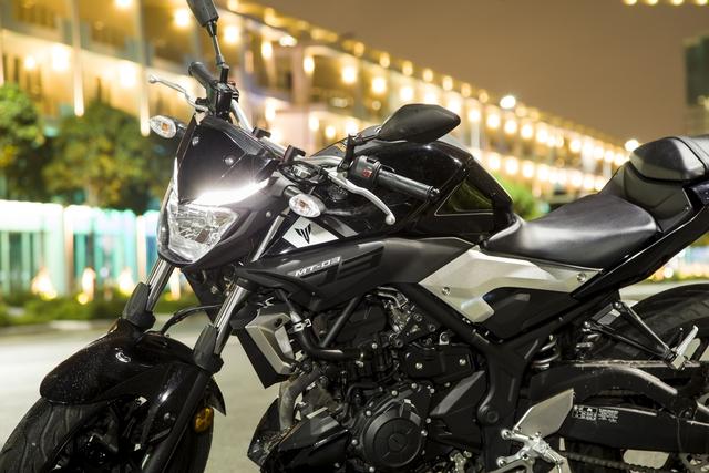 Yamaha MT-03 - Naked bike dành cho các bạn trẻ nhập môn phân khối lớn - Ảnh 2.