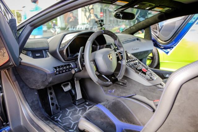 Cận cảnh bộ áo mới trên Lamborghini Aventador SV 32 tỷ Đồng của Minh Nhựa - Ảnh 17.