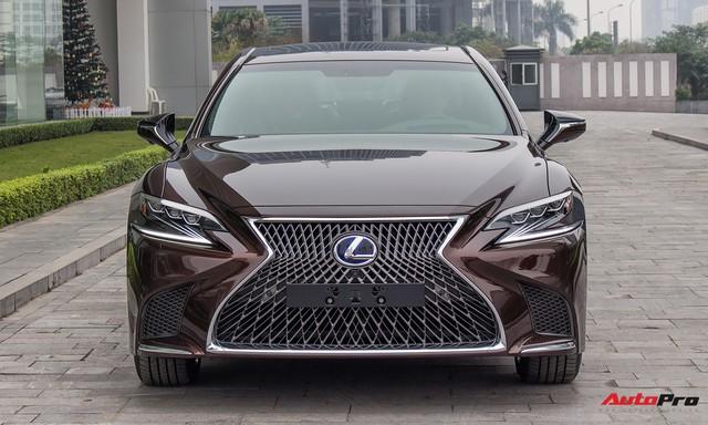 Cạnh tranh Mercedes-Maybach S450, Lexus LS500h 2018 chốt giá từ 7,44 tỷ đồng tại Việt Nam - Ảnh 4.