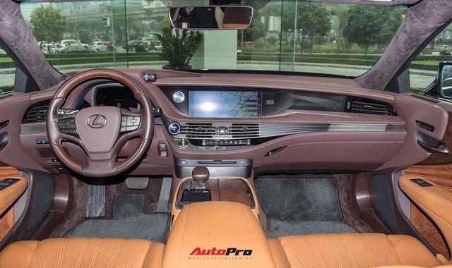 Cạnh tranh Mercedes-Maybach S450, Lexus LS500h 2018 chốt giá từ 7,44 tỷ đồng tại Việt Nam - Ảnh 6.