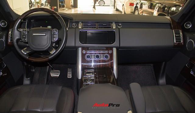 Rẻ gần một nửa xe mới, Range Rover Autobiography LWB lăn bánh 12.000 km bán lại giá chỉ 6,2 tỷ đồng - Ảnh 12.
