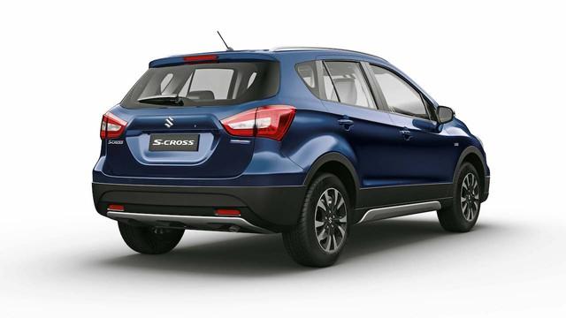 Crossover giá bèo và tiết kiệm nhiên liệu Suzuki S-Cross 2017 được vén màn - Ảnh 9.