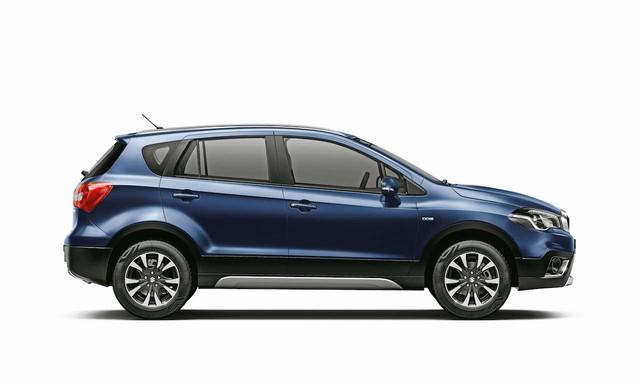 Crossover giá bèo và tiết kiệm nhiên liệu Suzuki S-Cross 2017 được vén màn - Ảnh 6.