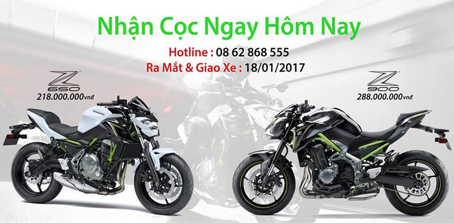 Cặp đôi naked bike Kawasaki Z900 và Z650 2017 sắp ra mắt Việt Nam với giá thơm - Ảnh 1.