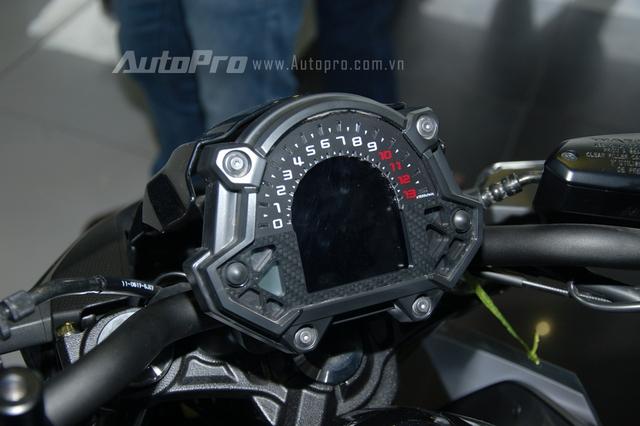 Kawasaki Z650 2017 chốt giá 218 triệu Đồng có gì hot? - Ảnh 7.