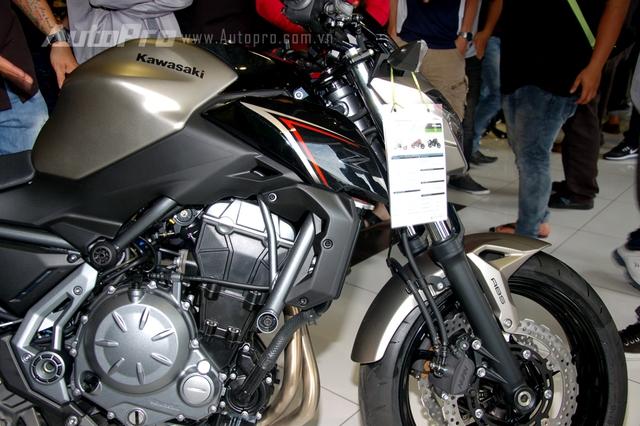 Kawasaki Z650 2017 chốt giá 218 triệu Đồng có gì hot? - Ảnh 5.