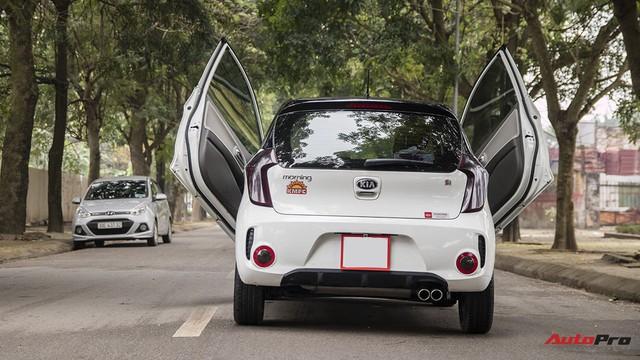 Trải nghiệm Kia Morning độ cửa Lamborghini, trần Rolls-Royce tại Hà Nội - Ảnh 6.