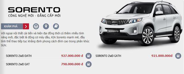 Kia Sorento hạ giá xuống thấp nhất phân khúc SUV 7 chỗ tại Việt Nam - Ảnh 1.