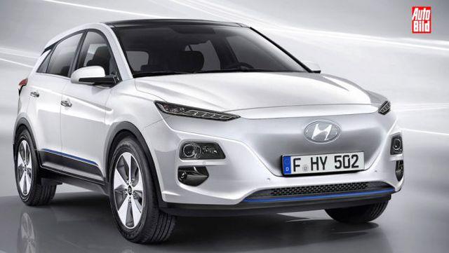 Hyundai Kona EV có hai tuỳ chọn pin, phạm vi hoạt động lên đến 338 km - Ảnh 1.