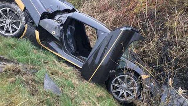 Siêu xe triệu USD Koenigsegg Agera RS gặp nạn tại Thụy Điển