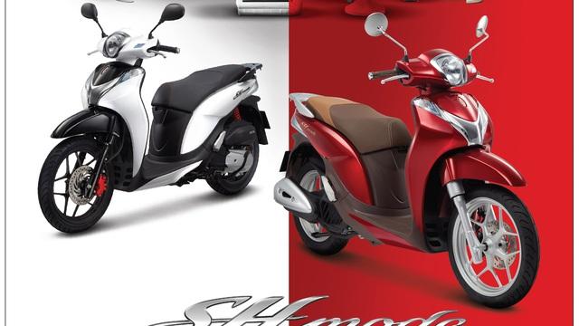 Honda SH Mode 125 thêm màu mới tại Việt Nam