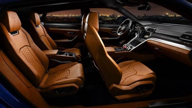 Lamborghini Urus - SUV nhanh nhất thế giới chính thức trình làng - Ảnh 3.