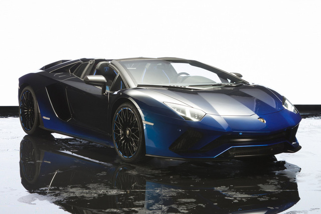 Lamborghini trình làng Aventador S mui trần bản giới hạn tại Nhật Bản - Ảnh 5.