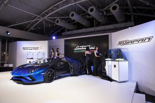 Lamborghini trình làng Aventador S mui trần bản giới hạn tại Nhật Bản - Ảnh 4.