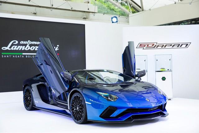 Lamborghini trình làng Aventador S mui trần bản giới hạn tại Nhật Bản - Ảnh 3.