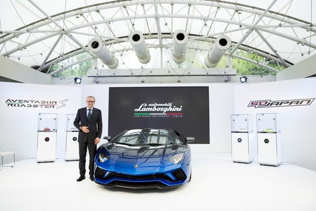 Lamborghini trình làng Aventador S mui trần bản giới hạn tại Nhật Bản - Ảnh 2.