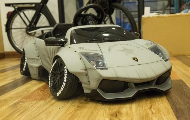 Xuất hiện bản độ Liberty Walk của siêu xe Lamborghini Murcielago đồ chơi tại Việt Nam - Ảnh 6.