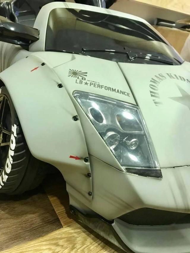 Xuất hiện bản độ Liberty Walk của siêu xe Lamborghini Murcielago đồ chơi tại Việt Nam - Ảnh 9.