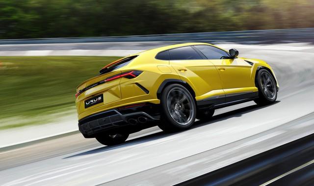 Lamborghini Urus - SUV nhanh nhất thế giới chính thức trình làng - Ảnh 2.
