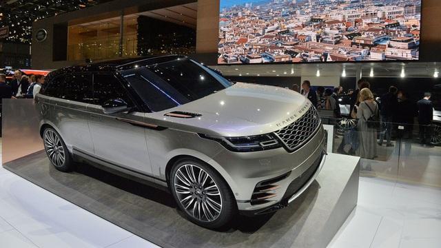 Chi tiết phiên bản đặc biệt đầu tiên của SUV hạng sang Range Rover Velar