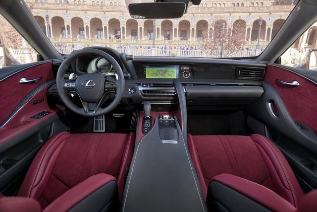 Xe sang Lexus LC Coupe 2018 được chốt giá từ 2,1 tỷ Đồng - Ảnh 10.