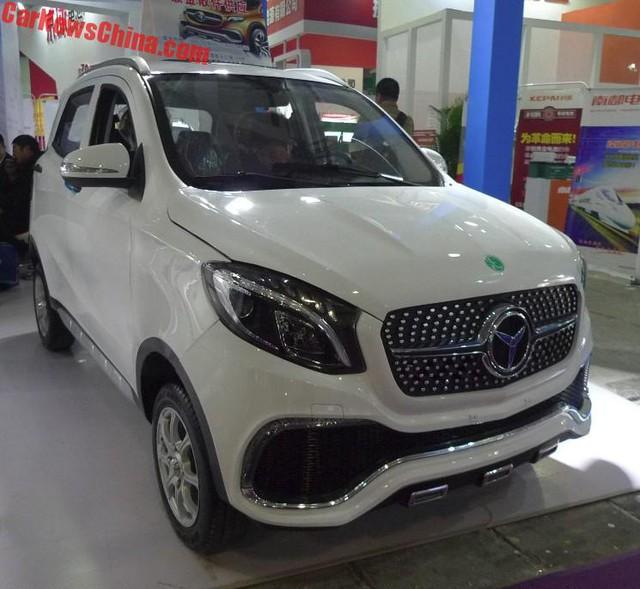 Luxing iStar - Mercedes-Benz phiên bản 72 triệu Đồng - Ảnh 1.