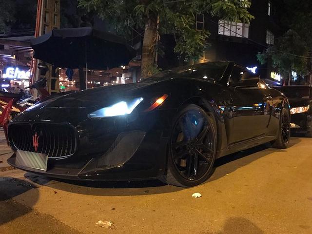 Dàn xe Maserati đình đám của các tay chơi Hà Nội tụ tập dưới phố - Ảnh 2.