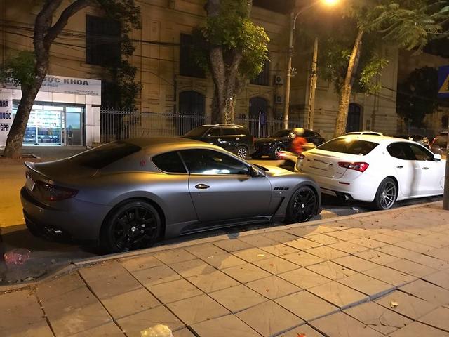 Dàn xe Maserati đình đám của các tay chơi Hà Nội tụ tập dưới phố - Ảnh 5.