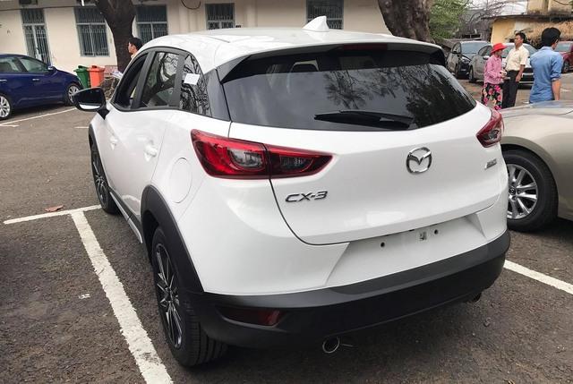 Mazda CX-3 bất ngờ được đưa đi đăng ký biển số tại Sài Gòn - Ảnh 2.