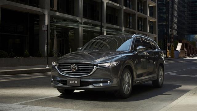 Crossover 3 hàng ghế Mazda CX-8 chính thức trình làng, giá từ 659 triệu Đồng