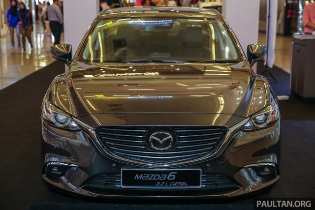 Mazda6 2017 ra mắt Đông Nam Á, sẵn sàng chiến đấu với Toyota Camry - Ảnh 3.