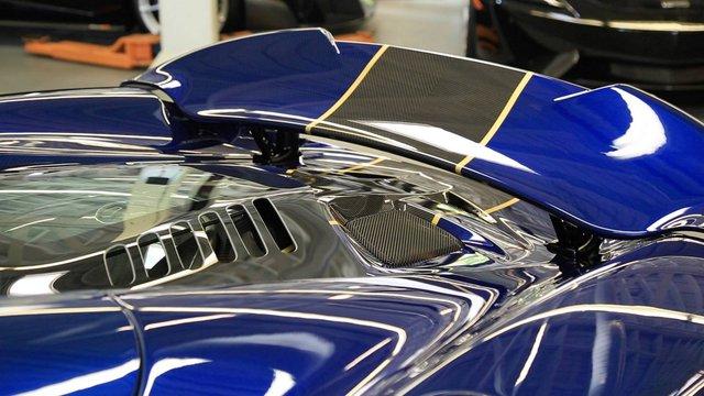 McLaren 675LT Spider Carbon Series mạ vàng có giá khóc thét 18,5 tỷ Đồng - Ảnh 5.