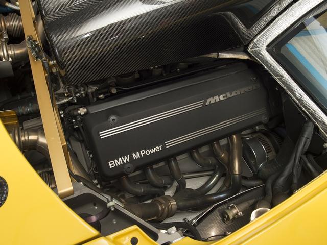 McLaren F1 siêu hiếm, khoang động cơ dát vàng đang được rao bán - Ảnh 17.