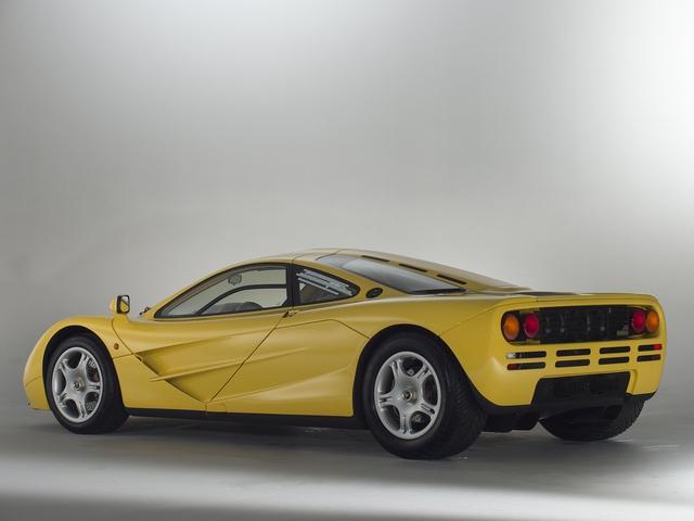 McLaren F1 siêu hiếm, khoang động cơ dát vàng đang được rao bán - Ảnh 7.