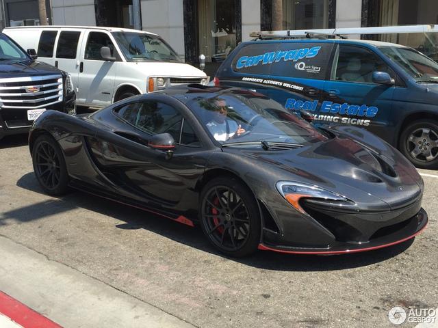 Siêu xe cực hiếm và cực đắt McLaren P1 Carbon Series của tỉ phú Ả Rập xuất hiện tại Pháp  - Ảnh 5.