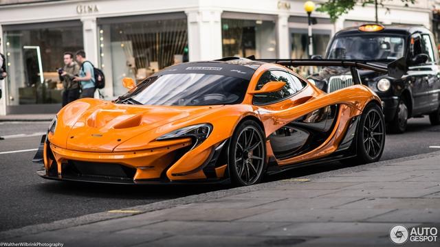 1 trong số 6 chiếc McLaren P1 LM được sản xuất trên thế giới bị bắt gặp tại London - Ảnh 13.