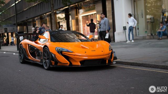 1 trong số 6 chiếc McLaren P1 LM được sản xuất trên thế giới bị bắt gặp tại London - Ảnh 8.