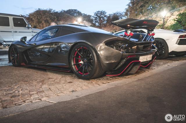 Siêu xe cực hiếm và cực đắt McLaren P1 Carbon Series của tỉ phú Ả Rập xuất hiện tại Pháp  - Ảnh 4.