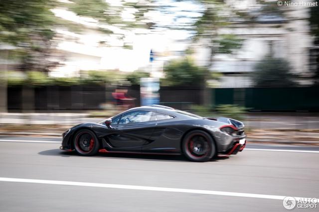 Siêu xe cực hiếm và cực đắt McLaren P1 Carbon Series của tỉ phú Ả Rập xuất hiện tại Pháp  - Ảnh 6.