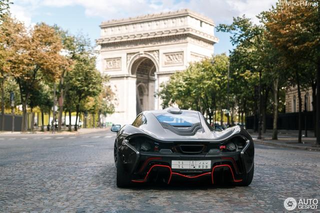 Siêu xe cực hiếm và cực đắt McLaren P1 Carbon Series của tỉ phú Ả Rập xuất hiện tại Pháp  - Ảnh 9.
