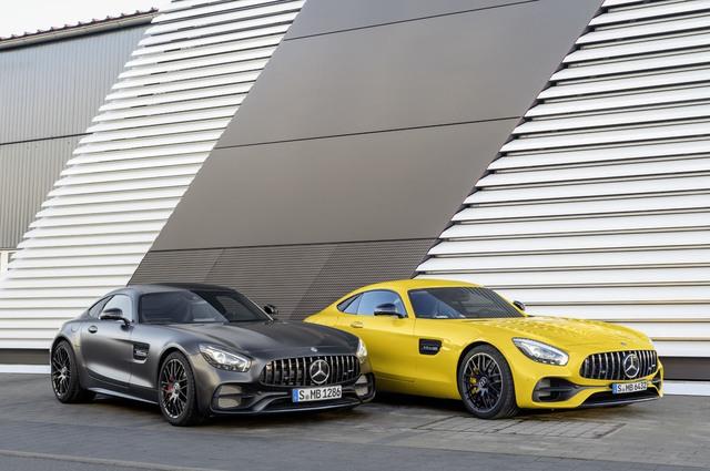 Xe thể thao hạng sang Mercedes-AMG GT C Coupe 2018 chính thức ra mắt - Ảnh 9.