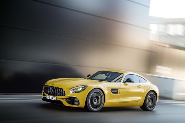 Xe thể thao hạng sang Mercedes-AMG GT C Coupe 2018 chính thức ra mắt - Ảnh 2.