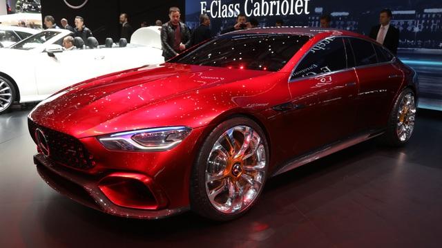 """""""Mục sở thị"""" vẻ đẹp của coupe 4 cửa hạng sang Mercedes-AMG GT Concept"""